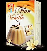 Flan goût vanille 100g