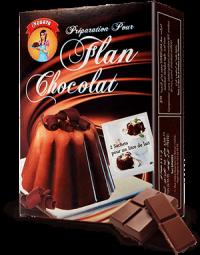 Flan goût chocolat 112 g