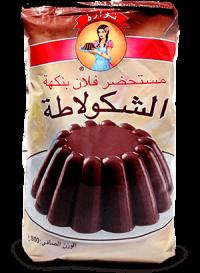 Flan familiale goût chocolat 800 g