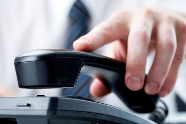 Changement des lignes téléphonique.